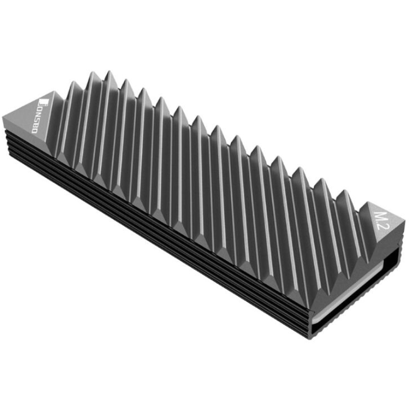 Jonsbo M2-3 M.2 2280 SSD Hard Disk Aluminum Heat Sink With Thermal Pad For Desktop PC Computer Cooling System Accessories