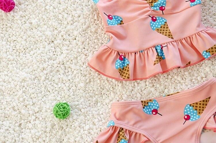 KID'S Swimwear 1 GIRL'S 2 GIRL'S Swimsuit 3-Year-Old 4 Female Baby Small CHILDREN'S Hot Springs Infants Bikini Princess