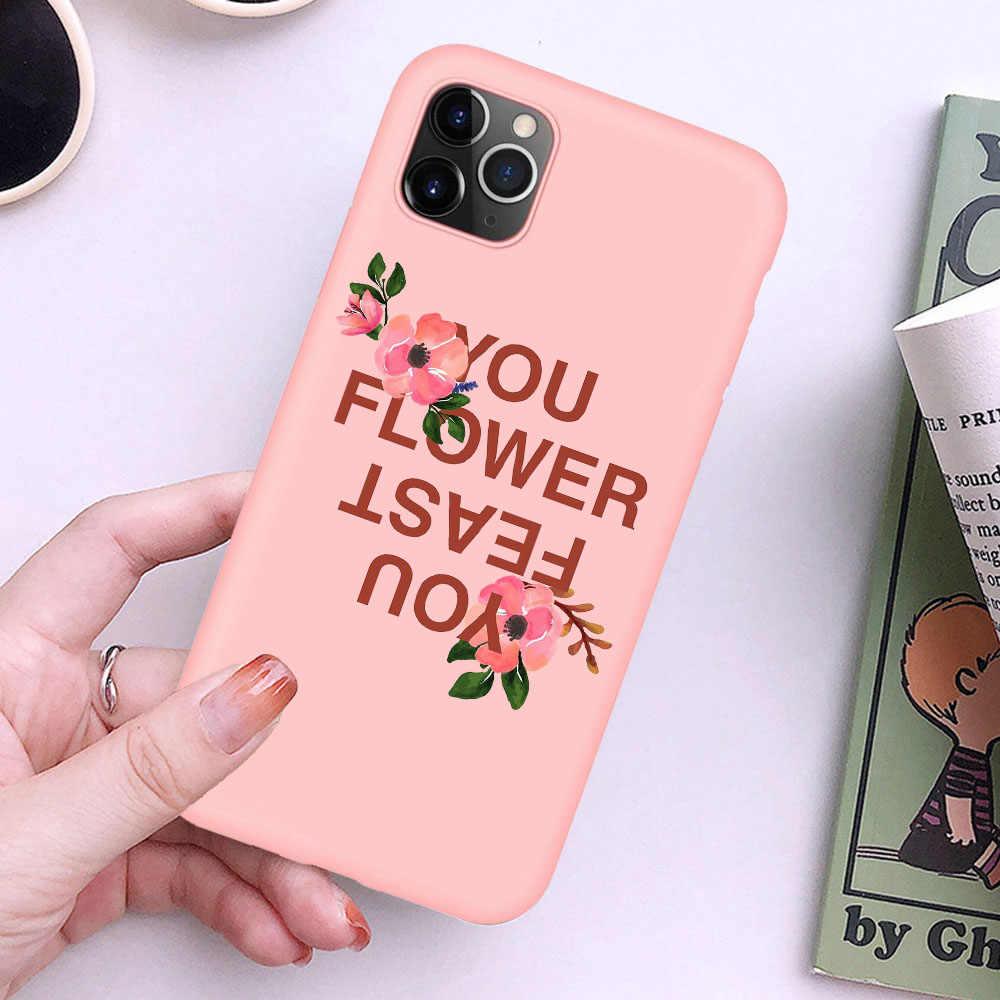 ハリースタイル細線愛ツアーケース iphone 11 プロ XR X XS 最大キャンディーシリコーン電話カバー iphone 6S 8 7 プラスケース