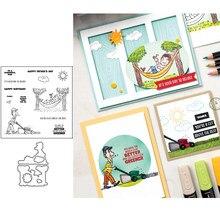 CUT OBEN Metall Schneiden Stirbt und Briefmarken Schablone für DIY Scrapbooking Album Präge Papier Karten Dekorative Handwerk Sterben Schnitte