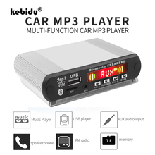 Wireless Bluetooth MP3 Decoder Board DC 12V 24V MP3 Player with Recording Function DIY Shell Support USB/SD/FM Audio Module