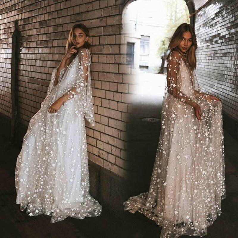 MRMT 2020 Brand New Summer Women's Long Dress Solid Color For Female Perspective Backless Deep V-neck Dress
