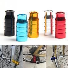 Cubo de bicicleta liberação rápida eixo da roda dianteira suporte da lâmpada ciclismo bicicleta extensor cubos suporte da lâmpada luz montagem ciclismo