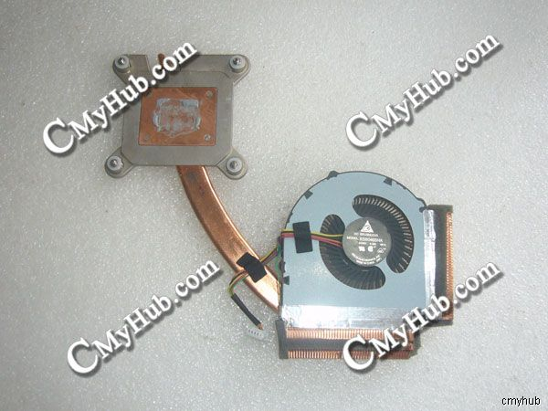 For IBM For <font><b>Lenovo</b></font> For Thinkpad <font><b>T430</b></font> T430i 0B41089 KSB0405HA BE1L Heatsink Cooling <font><b>Fan</b></font> image