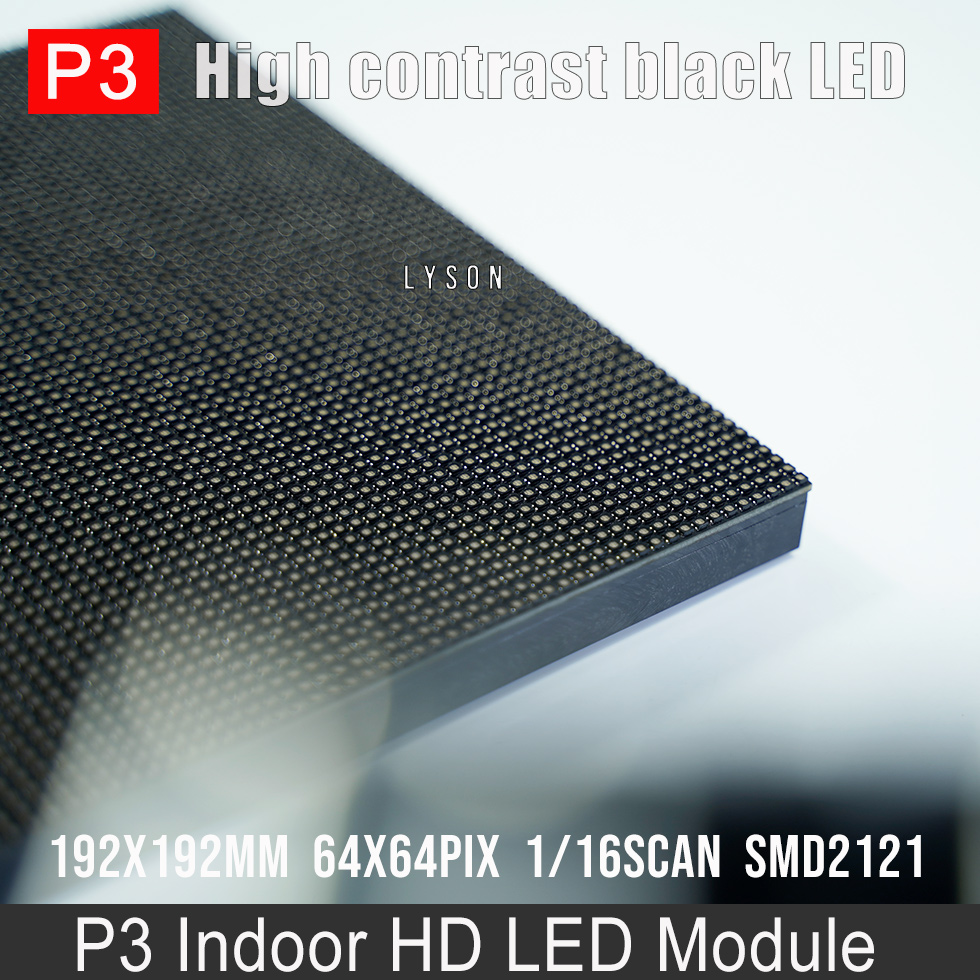 Image 3 - Indoor HD P3 SMD Full Color LED Display Module 64x64 Pixels 3 in 1 RGB 192*192mmp3 led moduleled display modulep3 smd -