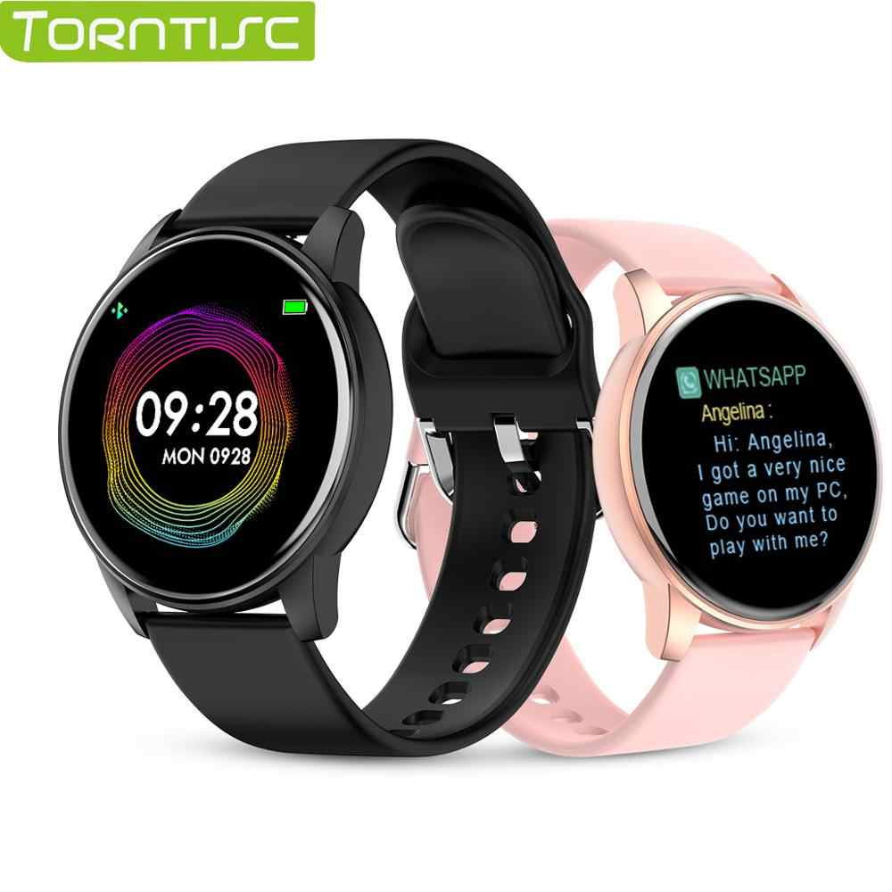 Torntisc Q5P Heart Rate Blood Pressure Oxygen Smart Watch Men and Women IP67 Waterproof  Sports Path Weather Forecast SmartWatch
