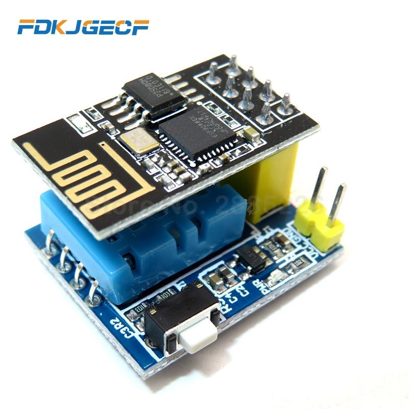 ESP8266 Φ DHT11 модуль датчика температуры и влажности ESP8266 WIFI NodeMCU Smart Home IOT DIY Kit