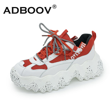 ADBOOV Wave Thick Sole Women Casual Shoes