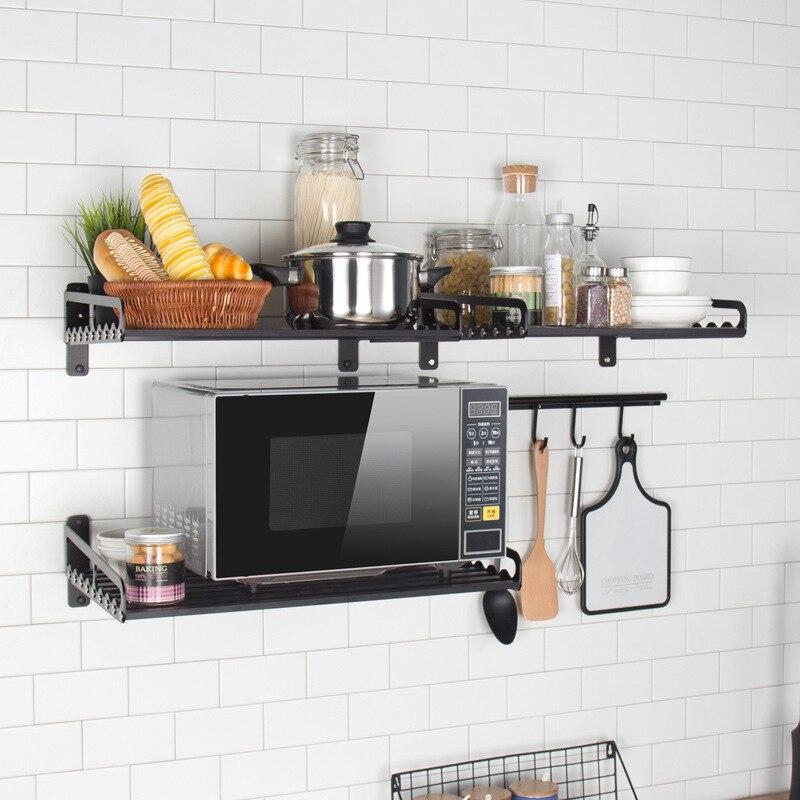 Racks Kitchen Shelf Holder Black