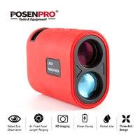 POSENPRO Laser rangefinder Hunting 600m Telescope Laser Distance Meter Golf Digital Monocular Range Finder Angle measuring tools