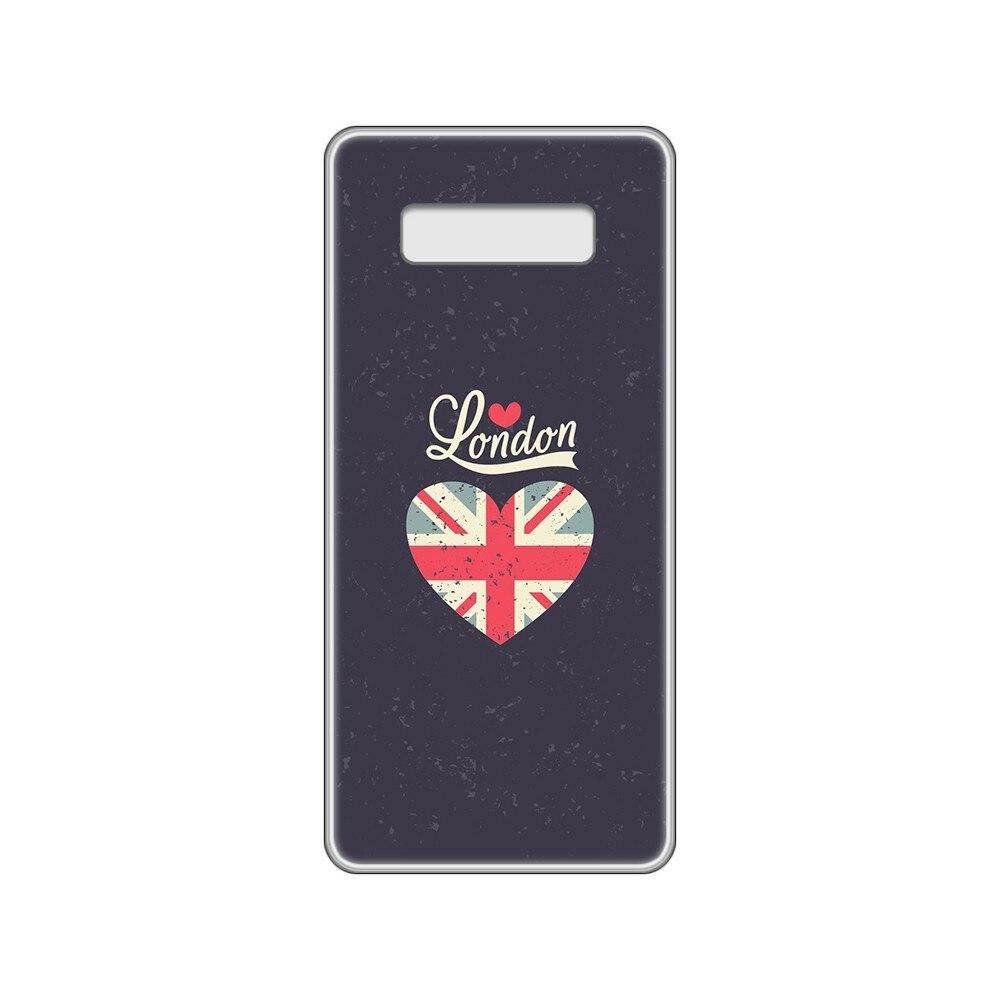 Elizabeth Tower England I Love London Phone Case For Samsung Galaxy S 7 8 9 10 11 20 A 20E 50 51 70 71 Plus Edge Ultra