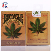 Bicycle Hemp Deck Playing Cards Magic Props Poker Close Up Stage Tricks for Professional Magician Free Ship