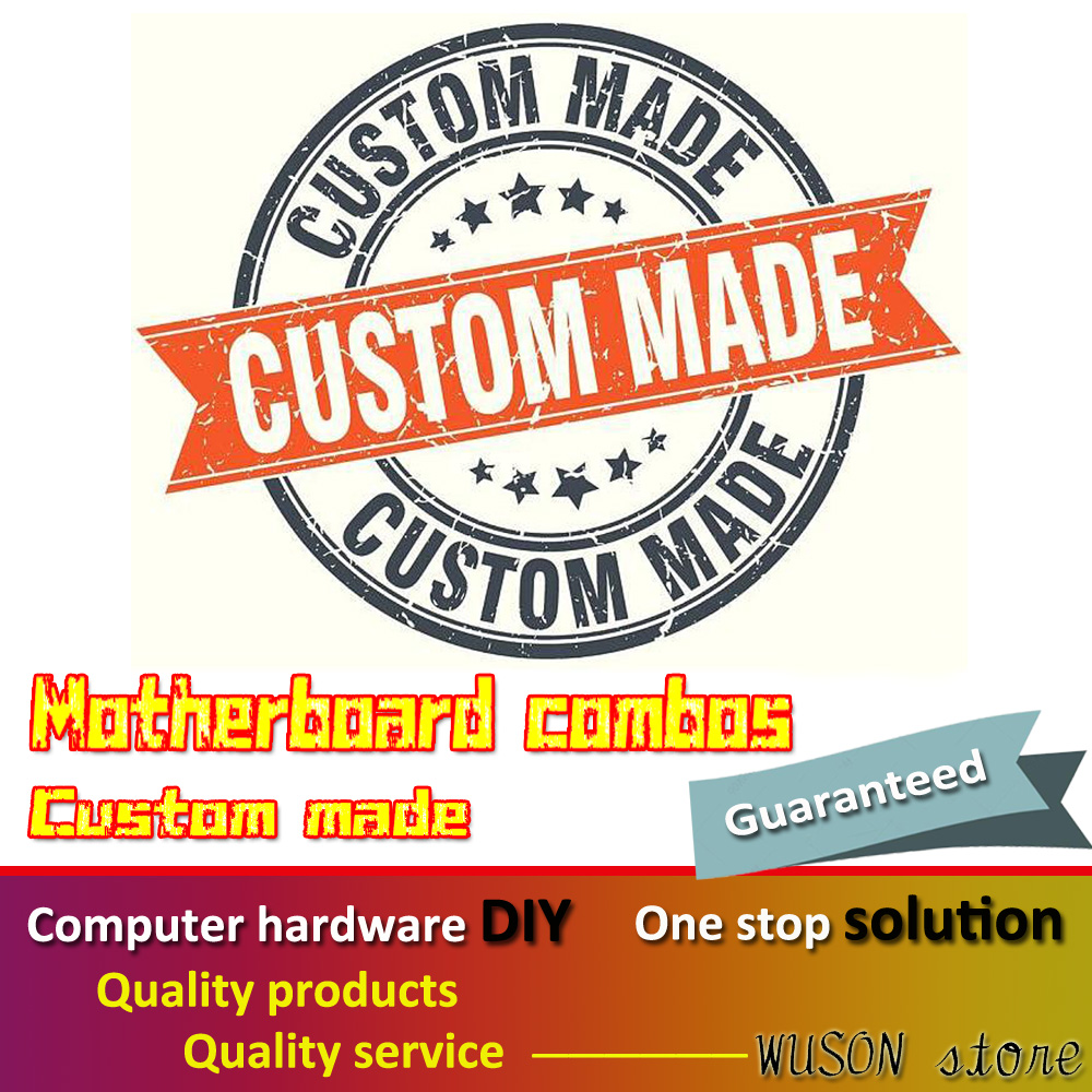 Computer DIY PC Hardware DIY Motherboard Combos Custom Made Support Hackintosh Simply Make Order By Letting Us Know Items List