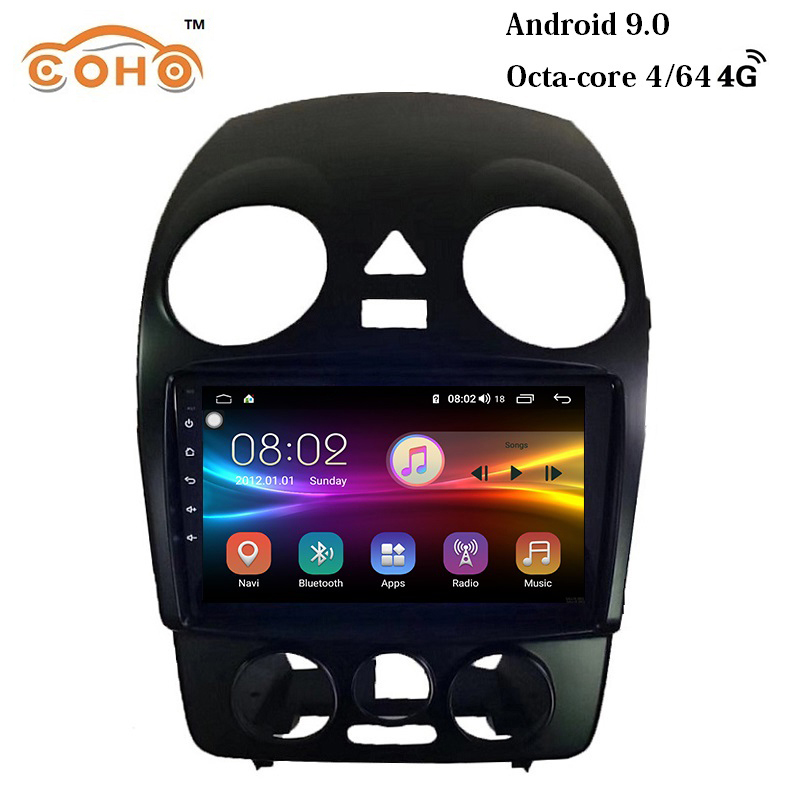 COHO Beetle car radio Android 9.0 8-core 4G+64G dvd gps android For VW Volkswagen Beetle 2005-2013 image