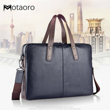 Handbag Male Genuine Leather Laptop Bags 14 And 15 Inch Male Business Affairs Br