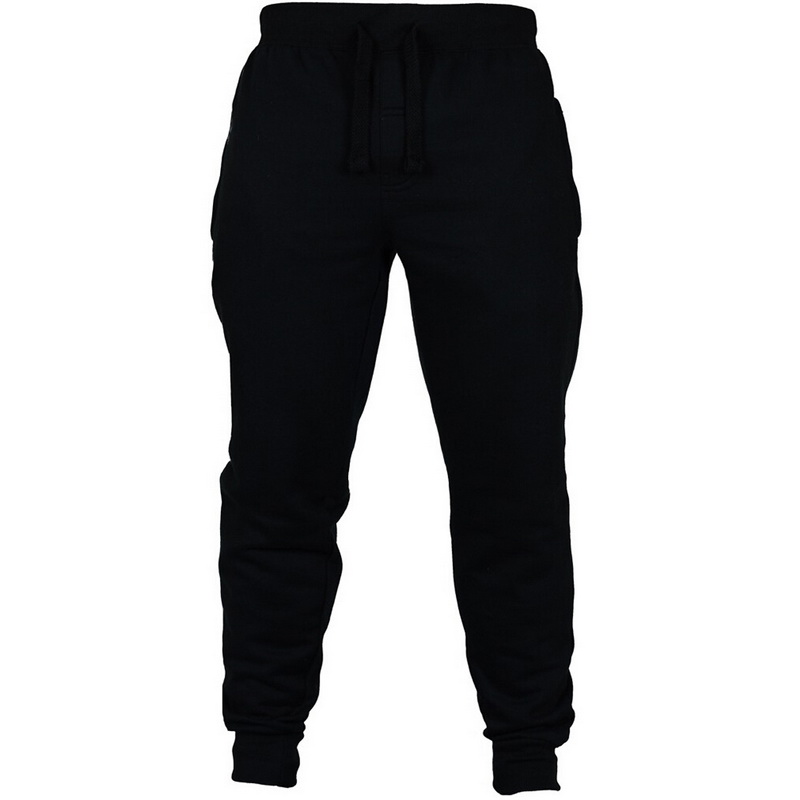 Men's Winter Pants 2019 New Fleece  Straight Trousers Mirco  Sweatpants Casual Loose Hip  Streetwear Pants