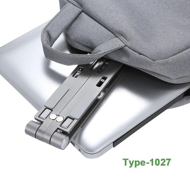 X Style Adjustable Foldable  Aluminum Laptop Stand Desktop Notebook Holder Desk Laptop Stand For 7-15 inch Macbook Pro Air 4
