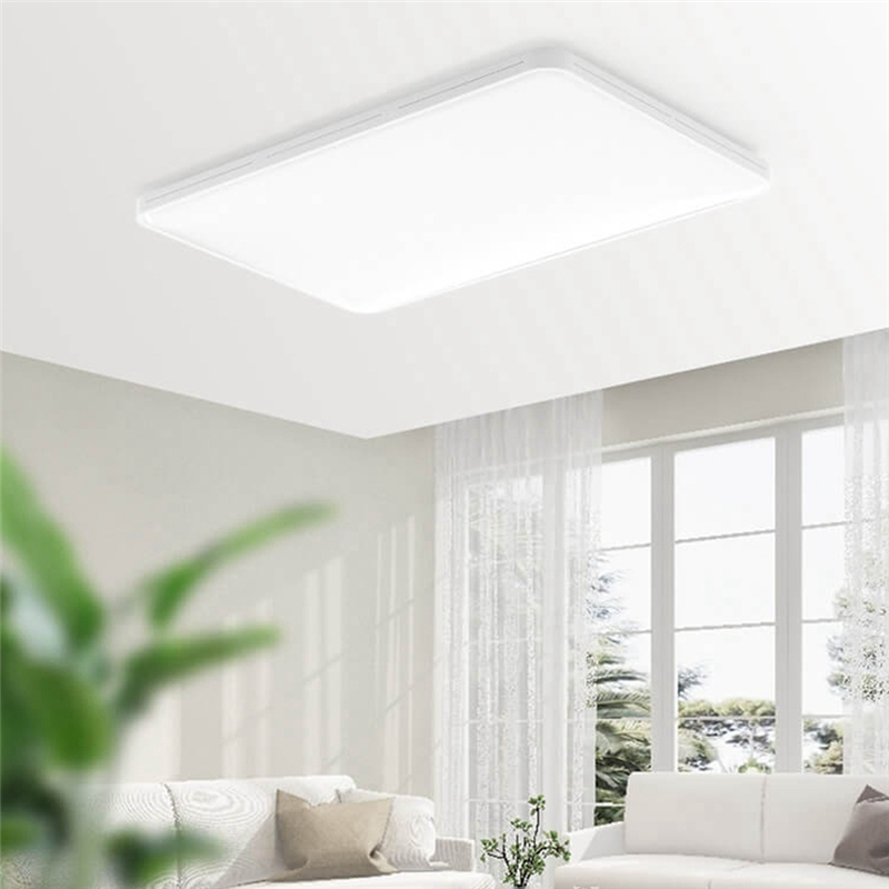Yeelight 2019 novo 90 w retângulo inteligente led luz de teto controle app para casa sala estar cama quarto