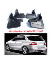 Auto mudguards For Mercedes Benz W166 ML300 320 350 400 ML Class 2012 2017 car Fenders Mud Flaps splash guards car accessories