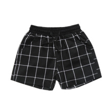1-6T Summer Children's Clothing Girls Boys Shorts Toddler Plaid Cotton Kids Clothes Elastic Waist Shorts Bloomers Bottom Pants купить дешево онлайн
