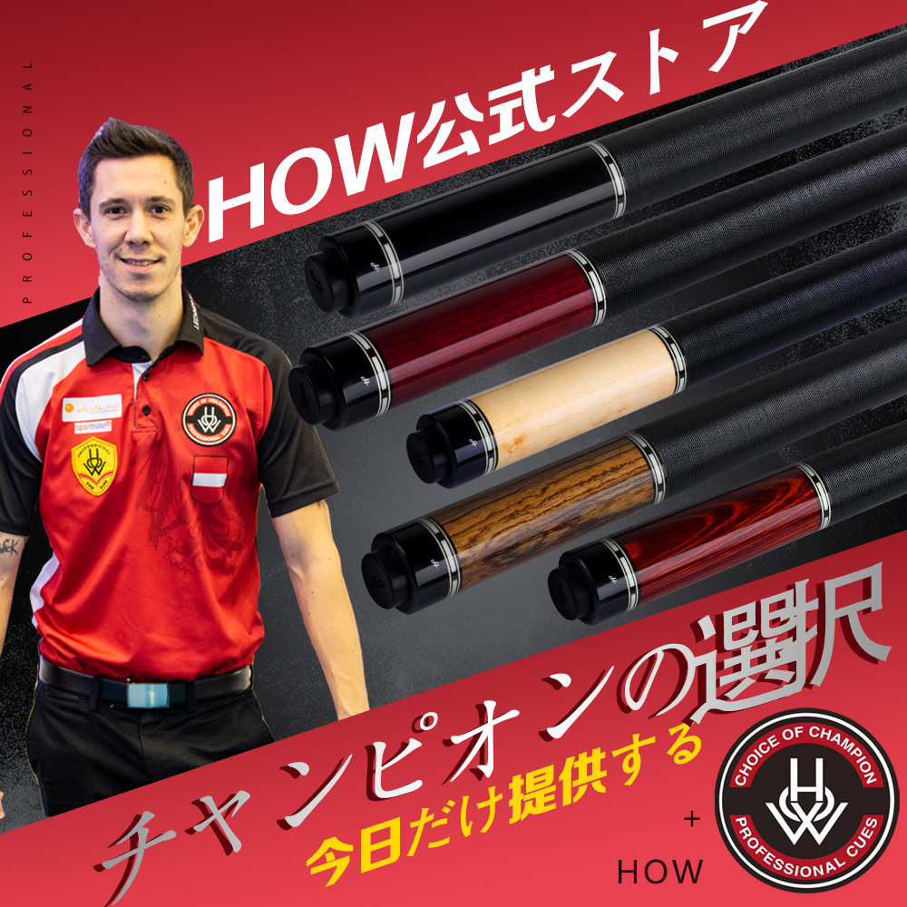 HOW ZR Series Pool Cue 13mm Tip  M Solid Wood  HOW AP Shaft 8 Teeth Joint Billiard Professional Handmade Play Cue With More Gift