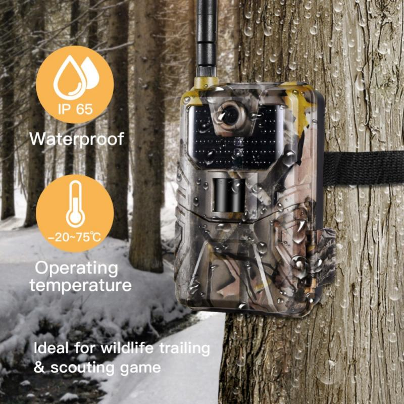 HC900M 20Mp 1080P Night-Vision Hunting Cameras Wildlife Camera Traps Hunter Cameras Wildlife Scouting Cameras Photo Traps Track image