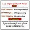 10 pz/lotto qualità originale 28g A1400 A1385 US/EU spina caricatore da muro USB adattatore di alimentazione ca per telefono 7 8 6 6S più spina con scatola