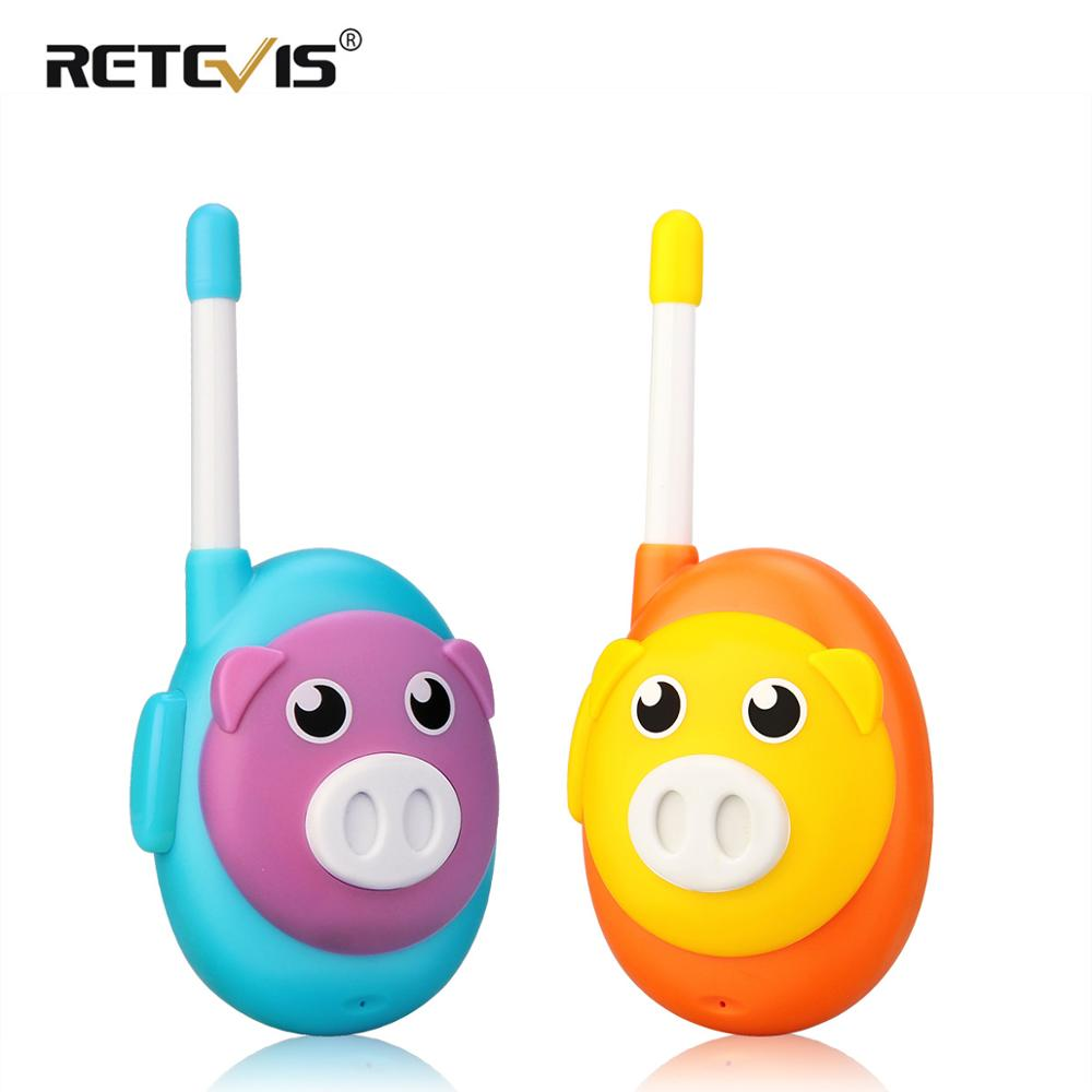 Retevis RB616/RB16  Walkie Talkie Kids 2PCS 1 Channel Two Color Radio Comunicador PMR PMR446 Portable Radio For Hunting Camping