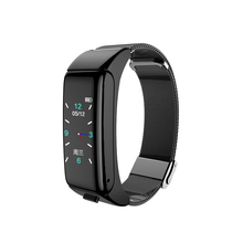 B6 Смарт часы Водонепроницаемый калорий сердечного ритма трекер подарок электронные спортивные цветной экран Bluetooth Вызов артериального давления 2 в 1