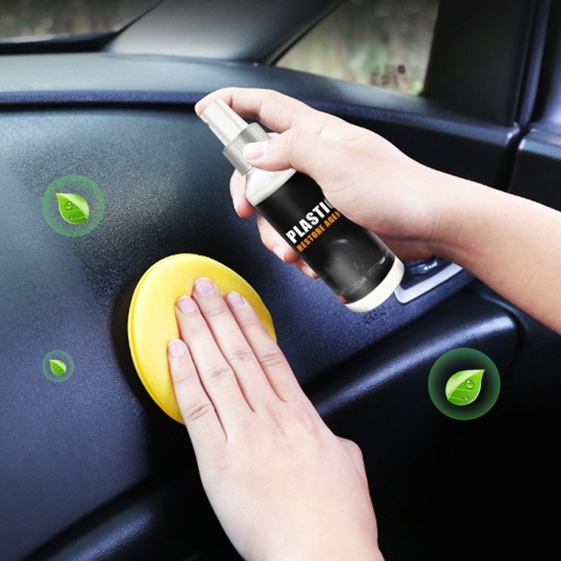 Plastic Instrument Panel Wax Restore Agent Wax Reducing Agent Auto Interior ForPlastic Renovated Coating Paste Maintenance Agent