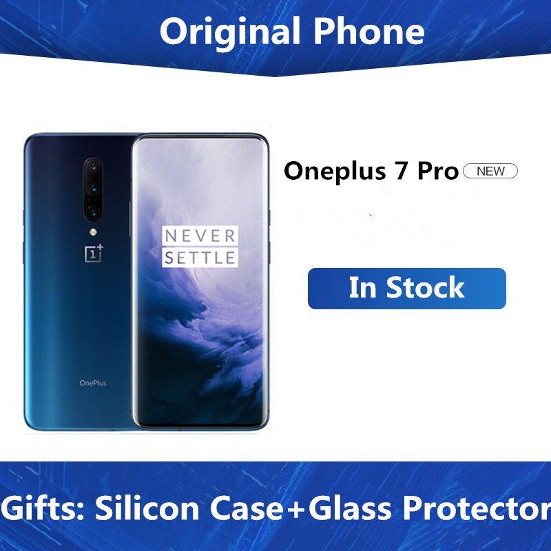 """Глобальная прошивка Oneplus 7 Pro мобильный телефон 6,67 """"90GHz 2K 6/8GB RAM 128/256GB ROM Snapdragon 855 48MP 3x ZOOM камера 4000mAh NFC Смартфоны и мобильные телефоны      АлиЭкспресс - OnePlus"""