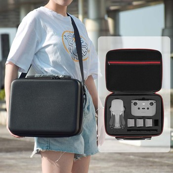 цена на Shoulder Bags Storage Bag For DJi Mavic Air 2 Hardshell Box Nylon PU Portable Package for mavic air2 Accessories Carrying Case