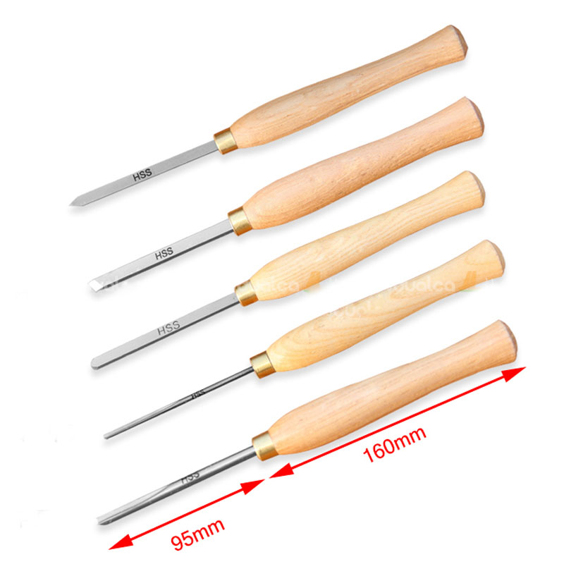 1PC High Speed Steel Mini Woodworking Knife Woodturning Tool