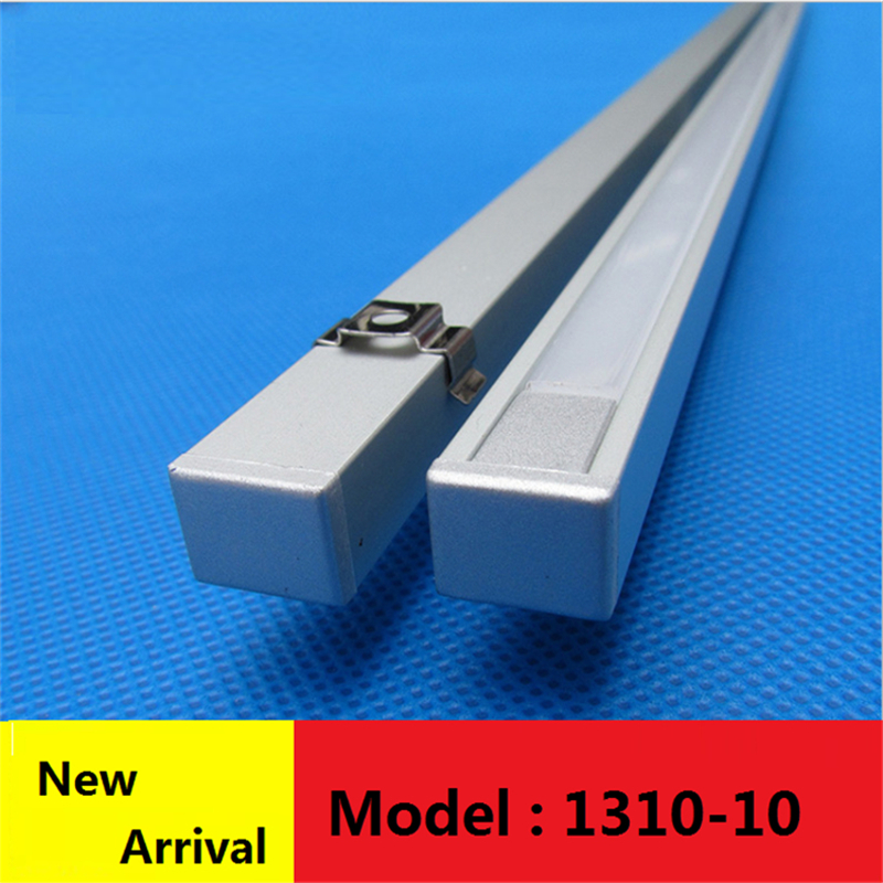 10-40 Meters ,40inch/pc 10mm Wide 5-24v Strip U Style Under Cabinet Kitchen Led Profile, Matte Diffuser Slim Aluminium Channel