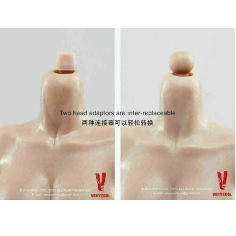 VERYCOOL 1//6 Female Large Rubber Chest FX01B Suntan Skin Body 12/'/' Action Figure