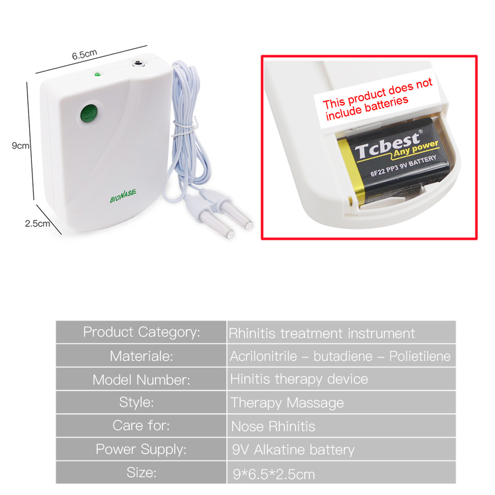 Image 5 - BioNase Nose Rhinitis Sinusitis Cure Therapy Nose Massage Hay fever Low Frequency Pulse Laser Runny sneeze treatment Machine-in Massage & Relaxation from Beauty & Health