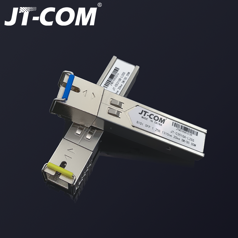 Image 5 - 2pcs SFP Module SC connector Gigabit DDM BIDI mini gbic 1000Mbps 
