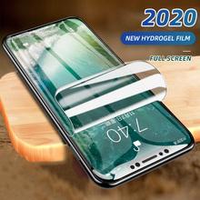 2020 nowa folia hydrożelowa do iPhone 5 5S SE 7 8 Plus 6 Plus 12 folia ochronna iPhone X XS XR XS Max 11 Pro Max miękka ochronna tanie tanio LITBOY Przezroczysty CN (pochodzenie) APPLE