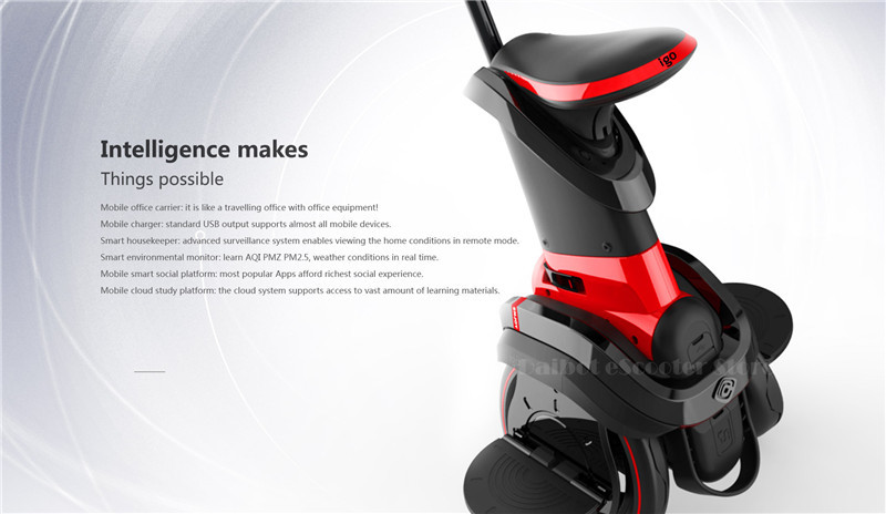 I-ROBOT-GO Electric Scooter Adults Two Wheel Self Balancing Scooters 48V 1200W Powerful Electric Scooter With SeatAPP  (12)