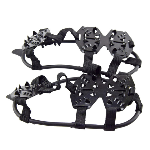 hot sale winter Ice Gripper For Shoes Women Men Non-slip Crampons Ice Gripper Spike Grips Cleats For Ice Snow Climbing Lahore