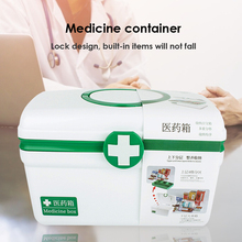 Portable First Aid Box Emergency Kit Portable Small Organize