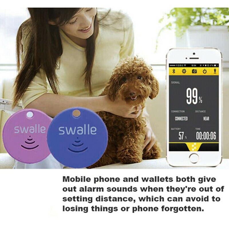 Mini Smart Tag Bluetooth Tracker Wireless Anti-verloren Alarm Kind Tasche Brieftasche Schlüssel Finder GPS Locator Verloren Erinnern für auto Pet