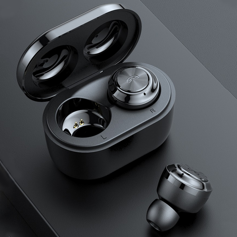 Car Driving Earbuds Sports Running TWS Earphone Mini Earbud True Wireless BT5.0 Headphone Bluetooth Earphone For Andriod/iOS