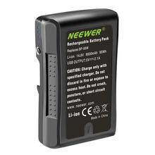 Neewer Rechargeable Li-Ion-Battery Video-Camcorder HDCAM Sony V-Mount/v-Lock 6600mah
