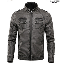 Photo by Supplier  Report Copyright Infringement Mens Daily / Weekend Punk & Gothic Fall Winter Regular Leather Jacket, S