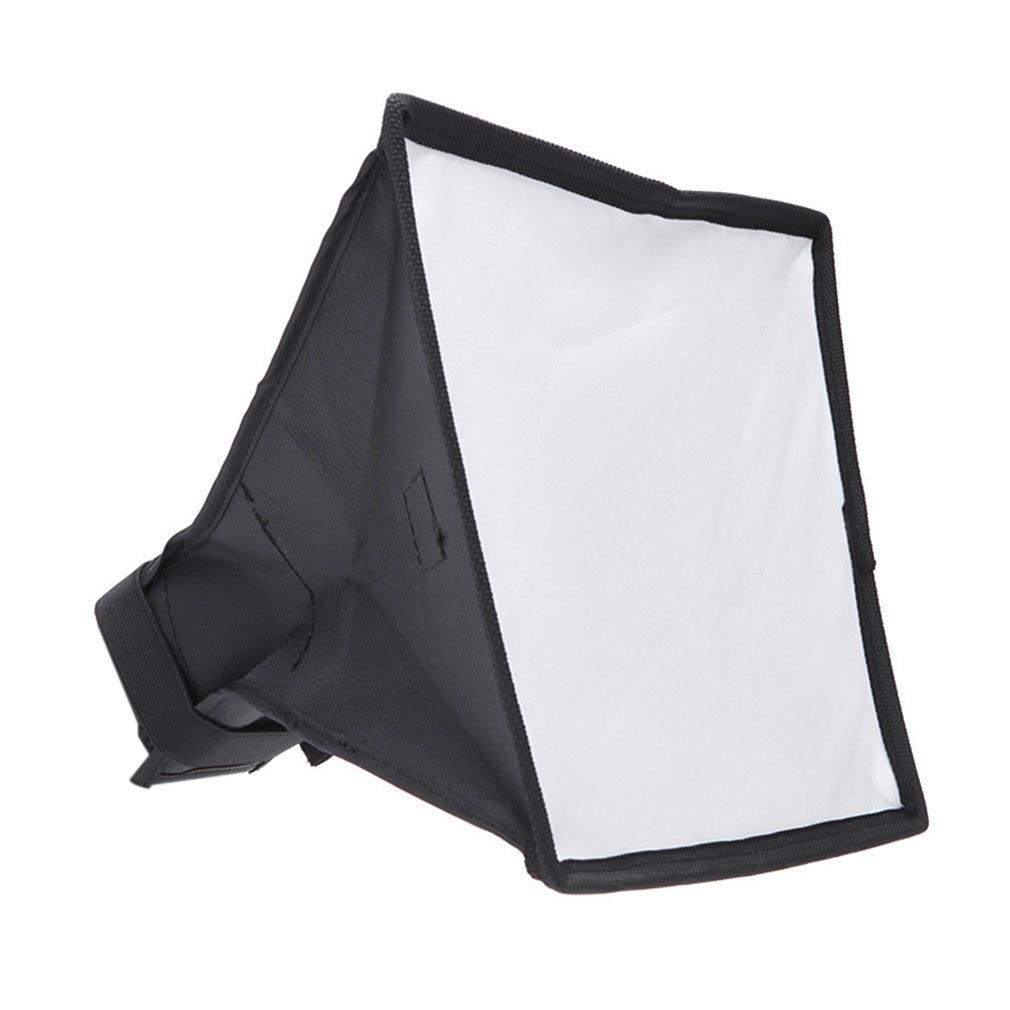 Diffuser Softbox 20 x 30cm Universal Foldable Flash Light Diffuser Softbox Soft box for Canon for Nikon DSLR Camera Wholesale