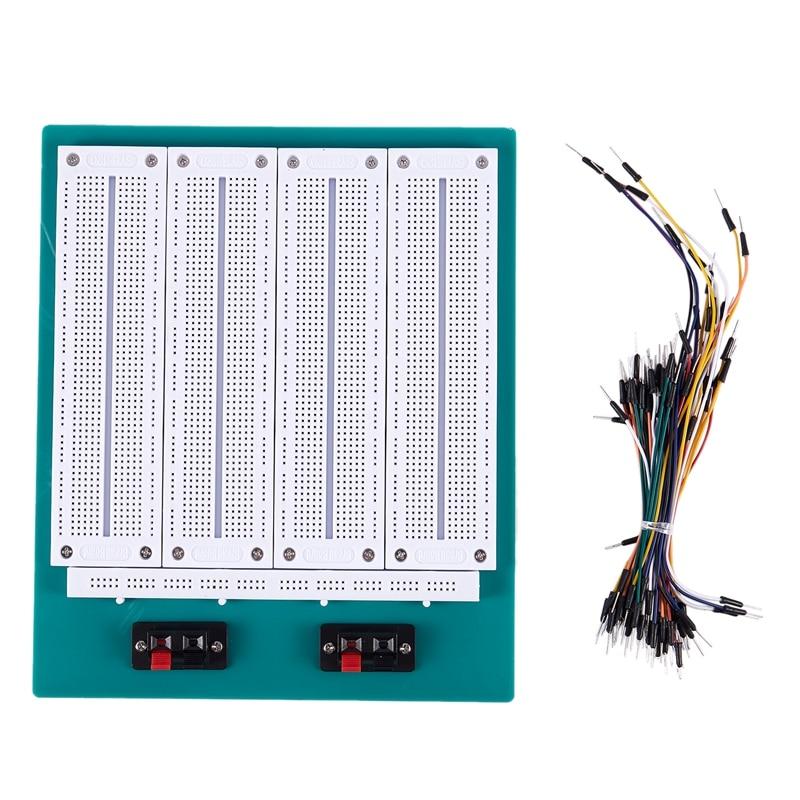 New 2860 tie point solderless breadboard Including jumper wire