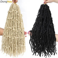 Butterfly Braids Hair-Extension Crochet-Hair Twisting-Hair Blonde Donghou Natural 24inch