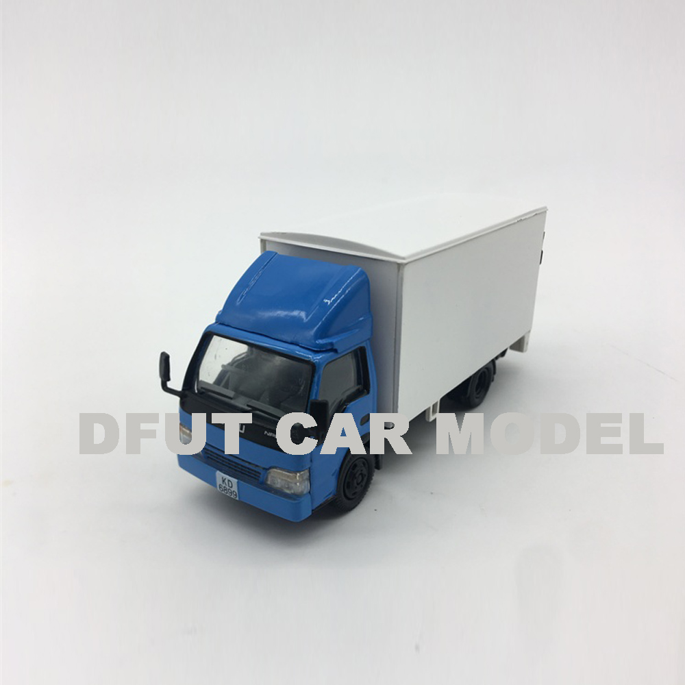 1:76 Alloy Toy NPR Truck Car Model Of Children's Toy Cars Original Authorized Authentic Kids Toys