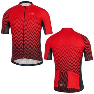 2019 Men Red GORE Pro Bicycle Wear Short Sleeve Racing Cycling Jersey Clothing Quick Dry Maillot Culotte wear Jersey(China)